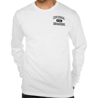 Centennial - Dragons - Alternative - Fort Collins T-shirts