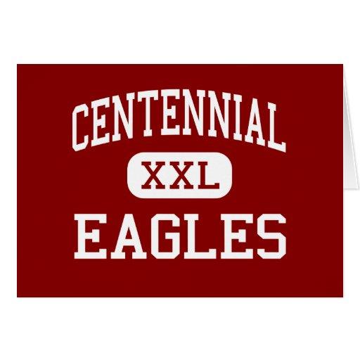 Centennial - Eagles - High School - Gresham Oregon Greeting Card