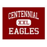 Centennial - Eagles - Middle - Miami Florida Postcard