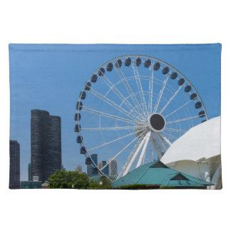 Centennial Ferris Wheel Placemat