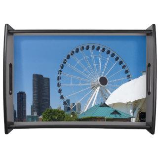 Centennial Ferris Wheel Serving Tray