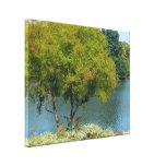 Centennial Lake in Ellicott City Maryland Canvas Print