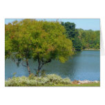 Centennial Lake in Ellicott City Maryland Card