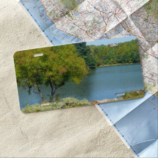 Centennial Lake in Ellicott City Maryland License Plate
