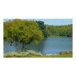 Centennial Lake in Ellicott City Maryland Poster