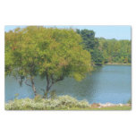 Centennial Lake in Ellicott City Maryland Tissue Paper