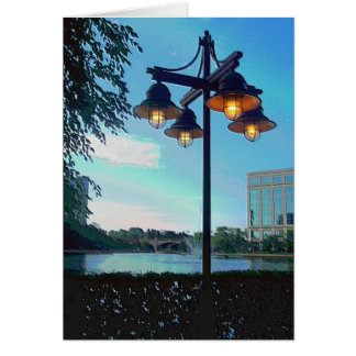 "Centennial Lakes ""Light Post"" Edina, MN Card"