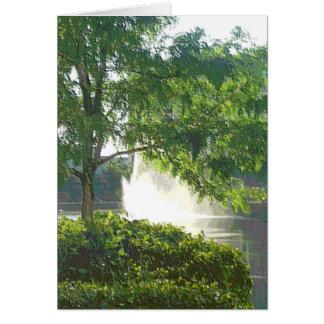 "Centennial Lakes Park ""Tree"" Edina, MN Greeting Card"