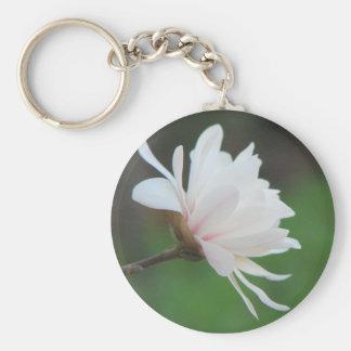 Centennial ligero de la magnolia llavero redondo tipo pin