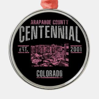 Centennial Metal Ornament