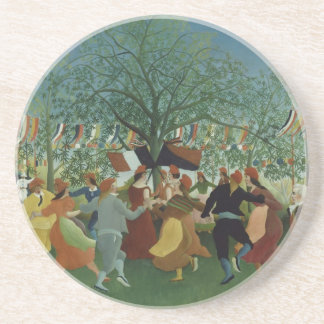 Centennial of Independence by Henri Rousseau Drink Coaster