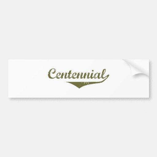 Centennial Revolution t shirts Car Bumper Sticker