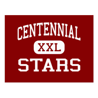Centennial - Stars - High School - Columbus Ohio Postcard