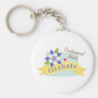 Centennial State Keychain