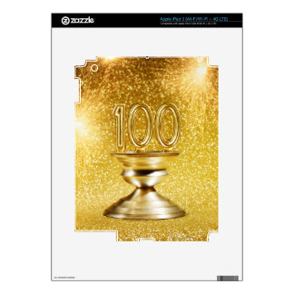 Centennial Trophy with Fireworks iPad 3 Skins