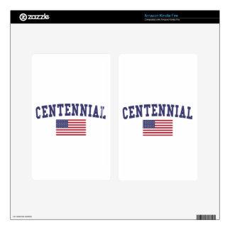 Centennial US Flag Skin For Kindle Fire