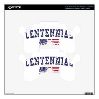 Centennial US Flag Skins For PS3 Controllers