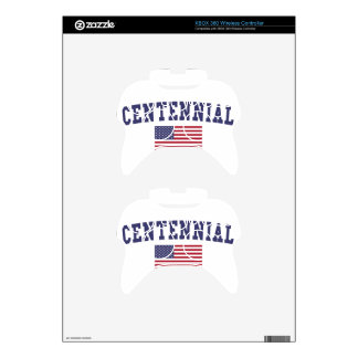 Centennial US Flag Xbox 360 Controller Skins
