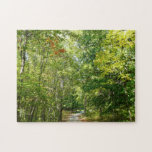 Centennial Wooded Path I Ellicott City Nature Jigsaw Puzzle