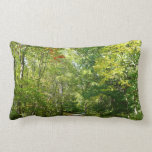 Centennial Wooded Path I Ellicott City Nature Lumbar Pillow