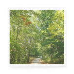 Centennial Wooded Path I Ellicott City Nature Napkin