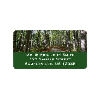Centennial Wooded Path II Ellicott City Maryland Label