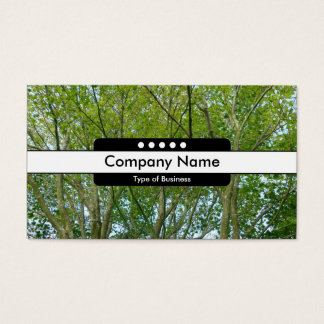 Center Band 5 Spots - Japanese Maple Business Card