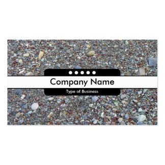 Center Band 5 Spots - Pebble Beach Business Card Templates