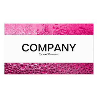 Center Band  - Steamy Pink Business Card