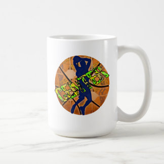 Center Basketball Player Coffee Mug