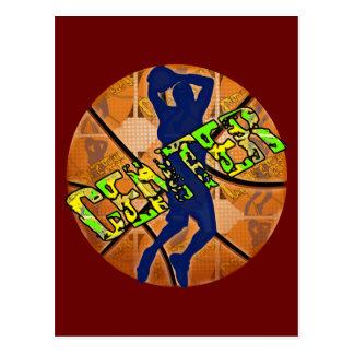 Center Basketball Player Postcard