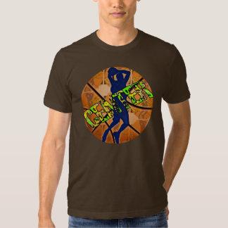 Center Basketball Player T-shirt