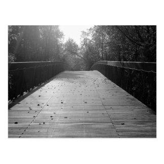 Center Bridge Sequel - Black and White Postcard