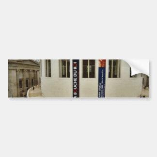 Center Court Of The British Museum In London Engla Car Bumper Sticker
