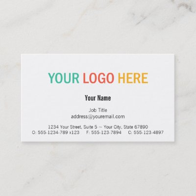 Modern logo 4 for cleaning service and hospitality business card modern logo 4 for cleaning service and hospitality business card zazzle reheart Gallery
