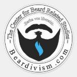 Center for Beard Related Learning Sticker