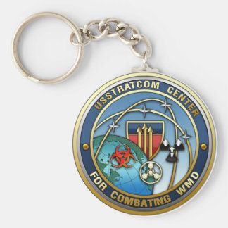 Center for Combating Weapons of Mass Destruction Basic Round Button Keychain