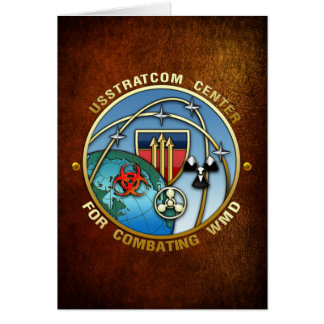 Center for Combating Weapons of Mass Destruction Card