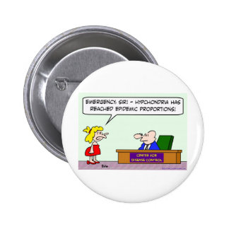 center for disease control hypochondria epidemic pins