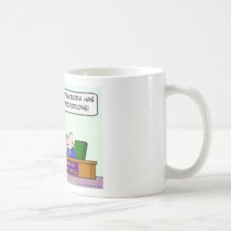 center for disease control hypochondria epidemic classic white coffee mug