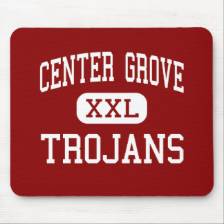 Center Grove - Trojans - Middle - Greenwood Mouse Pad
