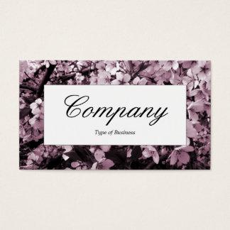 Center Label - Cherry Blossom Business Card