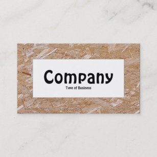 Chipboard business cards templates zazzle center label chipboard business card colourmoves