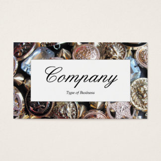 Center Label - Flea Market Bling Business Card