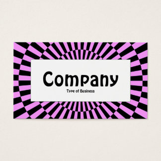 Center Label - Op Art 010 Business Card