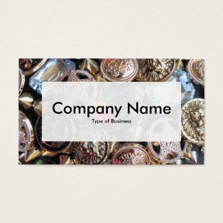 Center Label v3 - Flea Market Bling Business Card