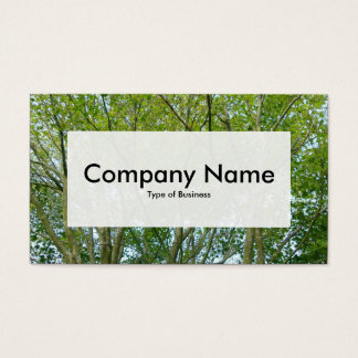 Center Label v3 - Japanese Maple Business Card