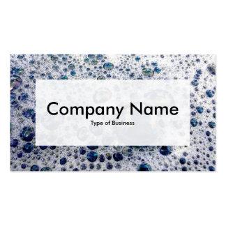 Center Label v3 - Soap Suds Business Card Templates