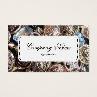 Center Label v5 - Flea Market Bling Business Card
