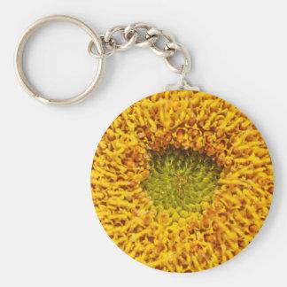 Center of a sun flower keychain